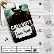 Call Of Duty Black Ops Zombie Custom Leather Luggage Tag