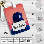 Chance the Rapper 3 Custom Leather Luggage Tag