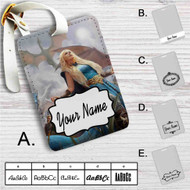Daenerys Targaryen Game of Thrones Custom Leather Luggage Tag