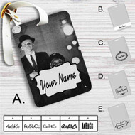 Frank Sinatra and Count Basie Custom Leather Luggage Tag