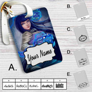 Hinata Hyuga Naruto Custom Leather Luggage Tag