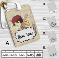 Ness Earthbound Custom Leather Luggage Tag