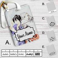 Noragami Yato and Bishamon Custom Leather Luggage Tag