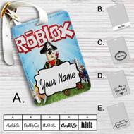 Roblox Custom Leather Luggage Tag