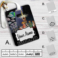 Star Wars Earthbound Custom Leather Luggage Tag