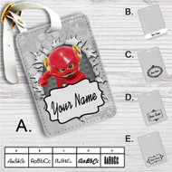 The Flash Lego Custom Leather Luggage Tag