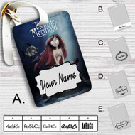 The Little Mermaid Tim Burton Custom Leather Luggage Tag