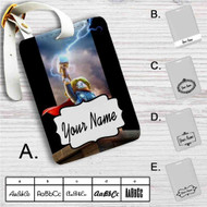 Thor The Avengers Lego Custom Leather Luggage Tag