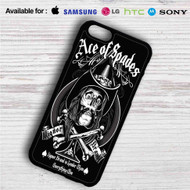 Ace of Spades iPhone 4/4S 5 S/C/SE 6/6S Plus 7| Samsung Galaxy S4 S5 S6 S7 NOTE 3 4 5| LG G2 G3 G4| MOTOROLA MOTO X X2 NEXUS 6| SONY Z3 Z4 MINI| HTC ONE X M7 M8 M9 M8 MINI CASE