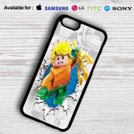 Aquaman Lego iPhone 4/4S 5 S/C/SE 6/6S Plus 7| Samsung Galaxy S4 S5 S6 S7 NOTE 3 4 5| LG G2 G3 G4| MOTOROLA MOTO X X2 NEXUS 6| SONY Z3 Z4 MINI| HTC ONE X M7 M8 M9 M8 MINI CASE