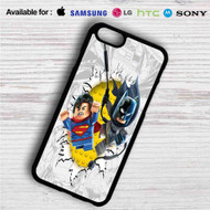 Batman and Superman Lego iPhone 4/4S 5 S/C/SE 6/6S Plus 7| Samsung Galaxy S4 S5 S6 S7 NOTE 3 4 5| LG G2 G3 G4| MOTOROLA MOTO X X2 NEXUS 6| SONY Z3 Z4 MINI| HTC ONE X M7 M8 M9 M8 MINI CASE