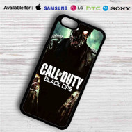Call Of Duty Black Ops Zombie iPhone 4/4S 5 S/C/SE 6/6S Plus 7| Samsung Galaxy S4 S5 S6 S7 NOTE 3 4 5| LG G2 G3 G4| MOTOROLA MOTO X X2 NEXUS 6| SONY Z3 Z4 MINI| HTC ONE X M7 M8 M9 M8 MINI CASE