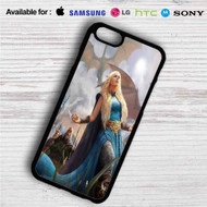 Daenerys Targaryen Game of Thrones iPhone 4/4S 5 S/C/SE 6/6S Plus 7| Samsung Galaxy S4 S5 S6 S7 NOTE 3 4 5| LG G2 G3 G4| MOTOROLA MOTO X X2 NEXUS 6| SONY Z3 Z4 MINI| HTC ONE X M7 M8 M9 M8 MINI CASE