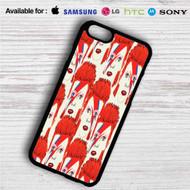 David Bowie Collage iPhone 4/4S 5 S/C/SE 6/6S Plus 7| Samsung Galaxy S4 S5 S6 S7 NOTE 3 4 5| LG G2 G3 G4| MOTOROLA MOTO X X2 NEXUS 6| SONY Z3 Z4 MINI| HTC ONE X M7 M8 M9 M8 MINI CASE