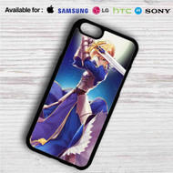 King Arthur Fate Stay Night Anime iPhone 4/4S 5 S/C/SE 6/6S Plus 7| Samsung Galaxy S4 S5 S6 S7 NOTE 3 4 5| LG G2 G3 G4| MOTOROLA MOTO X X2 NEXUS 6| SONY Z3 Z4 MINI| HTC ONE X M7 M8 M9 M8 MINI CASE
