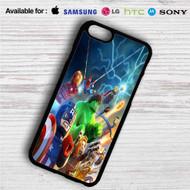 Marvel Superheroes Lego iPhone 4/4S 5 S/C/SE 6/6S Plus 7| Samsung Galaxy S4 S5 S6 S7 NOTE 3 4 5| LG G2 G3 G4| MOTOROLA MOTO X X2 NEXUS 6| SONY Z3 Z4 MINI| HTC ONE X M7 M8 M9 M8 MINI CASE