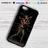 Michonne The Walking Dead iPhone 4/4S 5 S/C/SE 6/6S Plus 7| Samsung Galaxy S4 S5 S6 S7 NOTE 3 4 5| LG G2 G3 G4| MOTOROLA MOTO X X2 NEXUS 6| SONY Z3 Z4 MINI| HTC ONE X M7 M8 M9 M8 MINI CASE