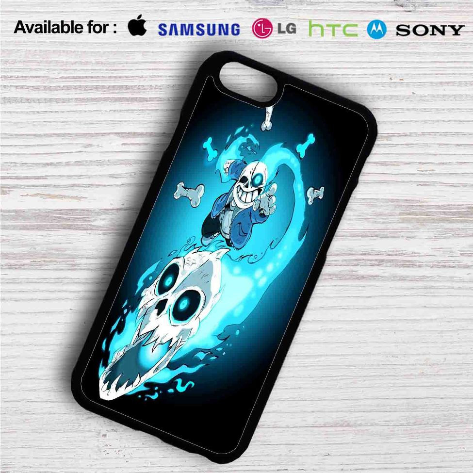 Sans The Skeleton Undertale iPhone 4/4S 5 S/C/SE 6/6S Plus 7| Samsung  Galaxy S4 S5 S6 S7 NOTE 3 4 5| LG G2 G3 G4| MOTOROLA MOTO X X2 NEXUS 6|  SONY Z3