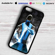 Sub Zero Mortal Kombat X iPhone 4/4S 5 S/C/SE 6/6S Plus 7  Samsung Galaxy S4 S5 S6 S7 NOTE 3 4 5  LG G2 G3 G4  MOTOROLA MOTO X X2 NEXUS 6  SONY Z3 Z4 MINI  HTC ONE X M7 M8 M9 M8 MINI CASE