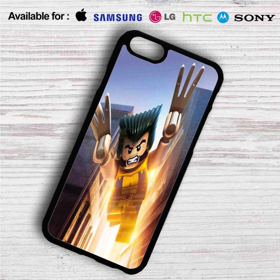 huge discount 1f0a2 56803 Wolverine Xmen Lego iPhone 4/4S 5 S/C/SE 6/6S Plus 7  Samsung Galaxy S4 S5  S6 S7 NOTE 3 4 5  LG G2 G3 G4  MOTOROLA MOTO X X2 NEXUS 6  SONY Z3 Z4 MINI   ...