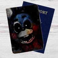 Bonnie Five Nights at Freddy's Custom Leather Passport Wallet Case Cover