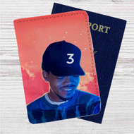 Chance the Rapper 3 Custom Leather Passport Wallet Case Cover