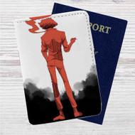 Cowboy Bebop Spike Spiegel Anime Custom Leather Passport Wallet Case Cover