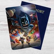 DC Comics Superheroes Lego Custom Leather Passport Wallet Case Cover