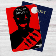 Dead by Daylight The Hillbilly Custom Leather Passport Wallet Case Cover
