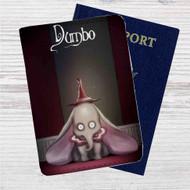 Dumbo Tim Burton Custom Leather Passport Wallet Case Cover
