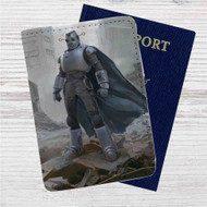 Fallout 4 The Mechanist Custom Leather Passport Wallet Case Cover