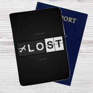 Lost Tv Custom Leather Passport Wallet Case Cover