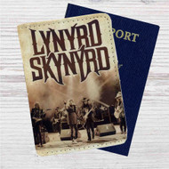 Lynyrd Skynyrd Custom Leather Passport Wallet Case Cover