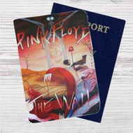 Pink Floyd The Wall Custom Leather Passport Wallet Case Cover