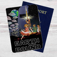 Star Wars Earthbound Custom Leather Passport Wallet Case Cover