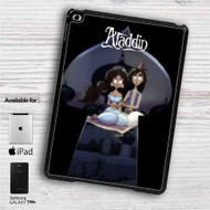 "Aladdin and Jasmine Tim Burton iPad 2 3 4 iPad Mini 1 2 3 4 iPad Air 1 2 | Samsung Galaxy Tab 10.1"" Tab 2 7"" Tab 3 7"" Tab 3 8"" Tab 4 7"" Case"
