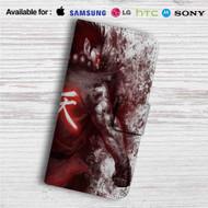 Akuma Street Fighter Custom Leather Wallet iPhone 4/4S 5S/C 6/6S Plus 7| Samsung Galaxy S4 S5 S6 S7 Note 3 4 5| LG G2 G3 G4| Motorola Moto X X2 Nexus 6| Sony Z3 Z4 Mini| HTC ONE X M7 M8 M9 Case