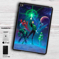 "Green Lantern The Animated Series iPad 2 3 4 iPad Mini 1 2 3 4 iPad Air 1 2 | Samsung Galaxy Tab 10.1"" Tab 2 7"" Tab 3 7"" Tab 3 8"" Tab 4 7"" Case"