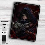 "Kitana Mortal Kombat X iPad 2 3 4 iPad Mini 1 2 3 4 iPad Air 1 2 | Samsung Galaxy Tab 10.1"" Tab 2 7"" Tab 3 7"" Tab 3 8"" Tab 4 7"" Case"