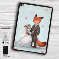 "Nick and Judy Maried Zootopia iPad 2 3 4 iPad Mini 1 2 3 4 iPad Air 1 2 | Samsung Galaxy Tab 10.1"" Tab 2 7"" Tab 3 7"" Tab 3 8"" Tab 4 7"" Case"