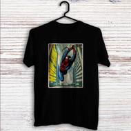 Comic Spiderman Custom T Shirt Tank Top Men and Woman
