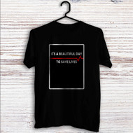 Grey's Anatomy Quotes Custom T Shirt Tank Top Men and Woman