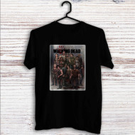 The Walking Dead All Characters With Zombie Custom T Shirt Tank Top Men and Woman