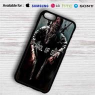 Carol of Duty The Walking Dead iPhone 4/4S 5 S/C/SE 6/6S Plus 7  Samsung Galaxy S4 S5 S6 S7 NOTE 3 4 5  LG G2 G3 G4  MOTOROLA MOTO X X2 NEXUS 6  SONY Z3 Z4 MINI  HTC ONE X M7 M8 M9 M8 MINI CASE