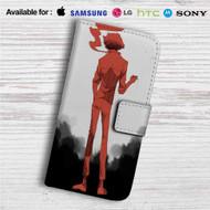 Cowboy Bebop Spike Spiegel Anime Custom Leather Wallet iPhone 4/4S 5S/C 6/6S Plus 7| Samsung Galaxy S4 S5 S6 S7 Note 3 4 5| LG G2 G3 G4| Motorola Moto X X2 Nexus 6| Sony Z3 Z4 Mini| HTC ONE X M7 M8 M9 Case
