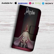 Dumbo Tim Burton Custom Leather Wallet iPhone 4/4S 5S/C 6/6S Plus 7| Samsung Galaxy S4 S5 S6 S7 Note 3 4 5| LG G2 G3 G4| Motorola Moto X X2 Nexus 6| Sony Z3 Z4 Mini| HTC ONE X M7 M8 M9 Case