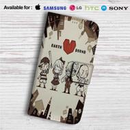 Earthbound Game Custom Leather Wallet iPhone 4/4S 5S/C 6/6S Plus 7| Samsung Galaxy S4 S5 S6 S7 Note 3 4 5| LG G2 G3 G4| Motorola Moto X X2 Nexus 6| Sony Z3 Z4 Mini| HTC ONE X M7 M8 M9 Case