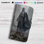 Fallout 4 The Mechanist Custom Leather Wallet iPhone 4/4S 5S/C 6/6S Plus 7| Samsung Galaxy S4 S5 S6 S7 Note 3 4 5| LG G2 G3 G4| Motorola Moto X X2 Nexus 6| Sony Z3 Z4 Mini| HTC ONE X M7 M8 M9 Case