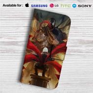 Kaneki Ken vs Venom Custom Leather Wallet iPhone 4/4S 5S/C 6/6S Plus 7| Samsung Galaxy S4 S5 S6 S7 Note 3 4 5| LG G2 G3 G4| Motorola Moto X X2 Nexus 6| Sony Z3 Z4 Mini| HTC ONE X M7 M8 M9 Case
