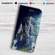 Mortal Kombat X Raiden Custom Leather Wallet iPhone 4/4S 5S/C 6/6S Plus 7| Samsung Galaxy S4 S5 S6 S7 Note 3 4 5| LG G2 G3 G4| Motorola Moto X X2 Nexus 6| Sony Z3 Z4 Mini| HTC ONE X M7 M8 M9 Case